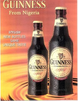 Advert Guinness Foreign Extra Stout
